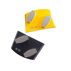 Two Types Lavina Grinding Bars Rough Floor Grinding Pads Lavina Easy Lock Lavina Tools Metal Grinding Diamonds for Concrete 12PCS