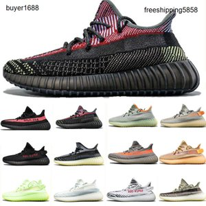 2020 Kanye Shoes Womens Mens Running Shoes Tail Light Sulfur Yecher Cinder Earth Abez Asriel Israfil Eliada Trainers Sneakers size 13 HG789