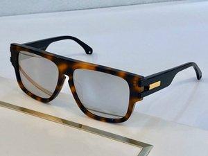حزمة النظارات الشمسية الجديدة للنساء مصمم ساحة 0664S كامل تأتي النظارات الشمسية أعلى جودة 0664 إطار nuisex uv400 مستطيل مع سوبل