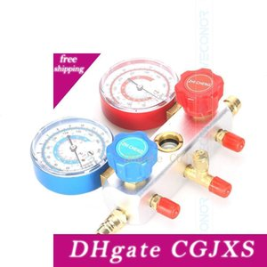 Automotive Air Conditioning Refrigerant Tables Ac Diagnostic Tool Manifold Gauge Set Colored Hose