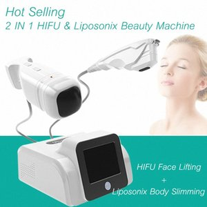 Beweglicher Qualität Hifu Hautverjüngung Anti-Falten-Maschinen-Gesichts-Lifting Behandlung Hifu Liposonix 2 in 1 Skin Care Schneller Slimmin uFe8 #