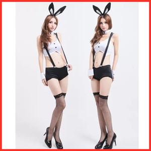 JIMIKO женщина сексуальная Halloween кролика девушка косплей костюмы сексуальное женское белье костюм зайчика эротическое равномерном бар партии Lingerie Рождество