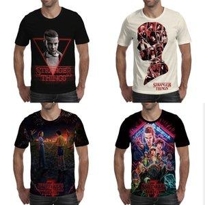 Fremde Things 3 T-Shirt Männer 3d Printed Shirts Herren Kinder Kurzarmshirts Hot Tv Series Camiseta Baby-Hemd Gym