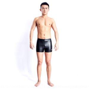 cortocircuitos calientes de 9VbF3 gqMtf cálida Baiya PU de los hombres de terciopelo Hongxing de la mujer del boxeador de tocar fondo traje de baño traje de baño fisiológicos