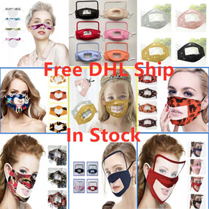 Visual lip language masks visual goggles masks designer face mask dust-proof and fog-proof masks for deaf people with visible expressions
