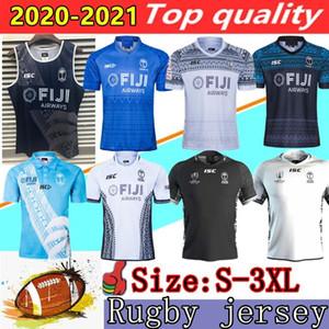 Nuevos 2020 Fiji Rugby Jersey 2019 Copa Mundial de Jersey 20 21 Fiji 7s camisas Super Rugby Zelanda Home Away cortocircuitos del chaleco de la camisa de Jersey