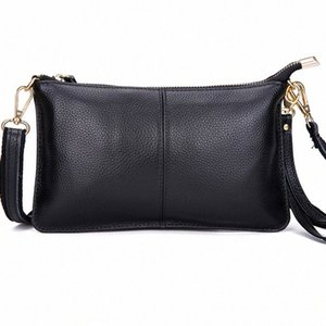 Mara's Dream 2020 New Solid Color Fashion Ladies Messenger Bag Clutch Bag Dinner Car Stitching Leather Female uGxp#