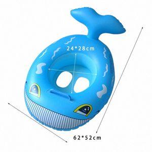 Anillo inflable del bebé Deportes de agua inflable de la piscina para los niños Círculos para Swimming Pool Party flotador Círculo Accesorios Piscina 5gII #