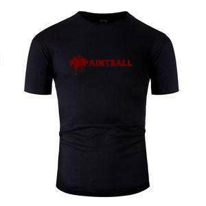 Proyectos Paintball - Paintball Amo la camiseta de la muchacha linda de la aptitud Boy Letra T Shirts Ropa 2020 de manga corta