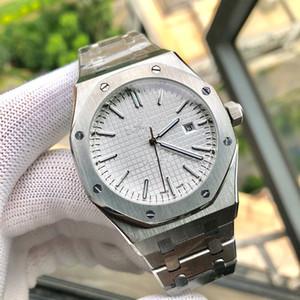 Из нержавеющей стали 316L Мужские часы календарь Полный автоматические часы мужчины механическое движение 41x13mm Montre люксусный Orologio ди Lusso Audemars Piguet ap