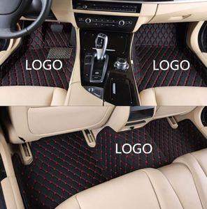 Adatto per 2007-2019 Lincoln Continental MKC MKT MKS MKX MKZ auto Tappetini rilievo del piede impermeabile per interni auto