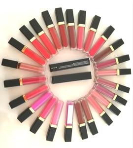 Vente en gros Pas Logo Maquillage Brillant à lèvres Rouge à lèvres 41 couleurs imperméable liquide mat brillant à lèvres Lip Gloss Non Stick Lipgloss avec miroir