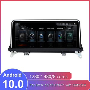 Android 10 Car DVD Player for BMW X5 E70 X6 E71 (2007-2013) CCC CIC System Unit PC Navigation Auto Radio Multimedia IPS