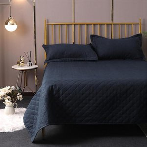 10 1PCS casa Divano Biancheria da letto di modo elegante classico Euopean americano nero di stile Copriletto Quilt Coverlet