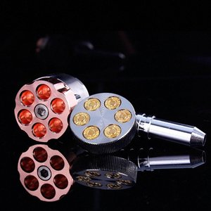 Revolver Rohr Six Shooter Pfeife 11cm Rauchtabak 6 Kugeldrehrohr Grinder Rauchpfeifen VS KEGEL ARTIST Iic9 #