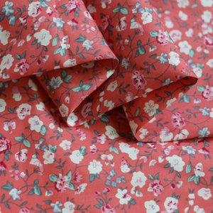 100cm * 147cm Shirt ethnique Matériel Coton naturel Popeline Tissu Calico