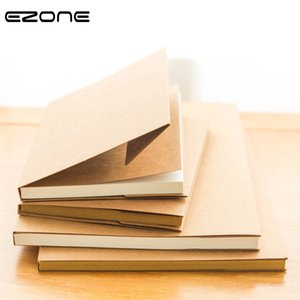 EZONE White Kraft Paper Inner Page Notebook Art Students Sketch Book Office Memo Children Graffiti School Stationery Supply New