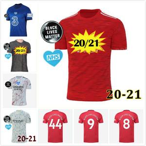 Top Таиланд 20 футбол Джерси 21 Black Lives Matter НГС BLM 2020 2021 манчестер футбол Джерси рубашки Camiseta де Майо Futbol де футовые