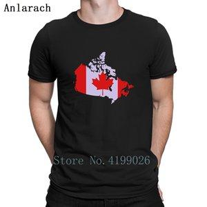 Kanada T-Shirts Sommer-Top Klassisches Druckerfamilie T-Shirt Street Große Größen Sonnenlicht Anlarach Outfit