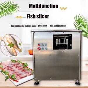 XT260 220V High quality 30 degree angle fish slicer smoked salmon slicing machine fish slice cutter