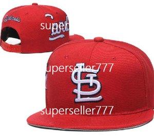 Nouveau design Marque Cardinal Hat LS Hommes Femmes Football Cap Snapback plat courbé Brim Salut au chapeau service chapeau européen de la mode américaine a2