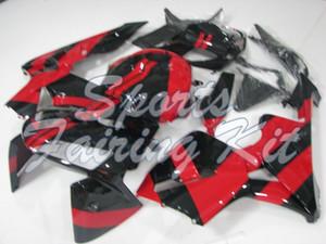 Kunststoff-Verkleidungen für CBR 600 RR 2005-2006 Schwarz Rot Verkleidungs CBR 600 RR 06 Karosserie CBR 600 RR 05