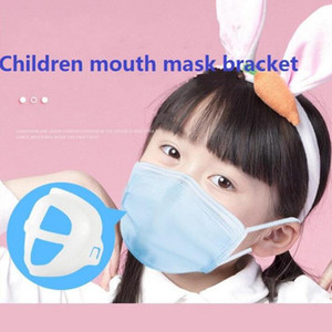Çocuklar 3D Ağız Destek Tek İç Parantez Nefes Yardım İç Pad Parantez Maske Tutucu YYA362 Assist Maskesi