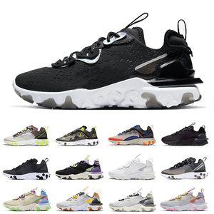 Remise React vision de type N354 Chaussures élément Gore-Tex 55 87 Chaussures de course pour les femmes noires Iridescent chaussures de sport de mode Camo