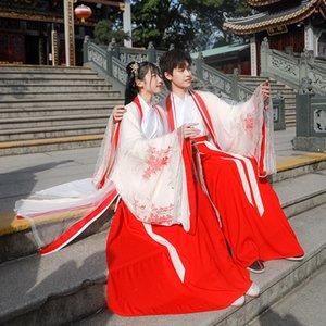 2020 New Spring Hanfu canzone fatta ricamato lungo 2020 New Spring Hanfu canzone ricamo paio lo cp procione paio cp