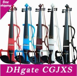 ارتفاع -end الأسود اليدوية فلاش الالكترونية الكمان للمبتدئين اللعب الكهربائية -Acoustic الكمان