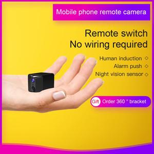 كاميرا صغيرة واي فاي طويل IP الاستعداد مع شرطة التدخل السريع للرؤية الليلية HD 1080P مايكرو كاميرا السيارات الرياضة DV DVR اللاسلكية مربية منزل الأمن كاميرا
