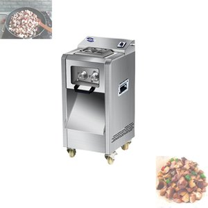 Multifunction Chicken Stripsslicer Wire cutter Fully automatic Meat grinder Sliced meatShiitake dicing machine
