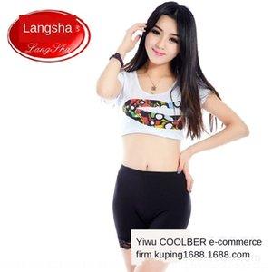 wo 9bfrX Sıkı Langsha karşıtı poz pantssummer yaz karşıtı poz seksi dantel tozluk Langsha kadın VKazU pantssafety pantolon güvenlik Sıkı