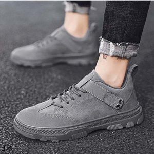 with free socks black Brown gray men casual shoe mens trainers outdoor fashion sports sneakers Breathable Jogging running shoes 39-44