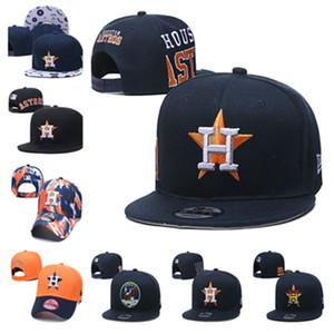 El logotipo del deporte Houston bordado gorra de béisbol ajustable del ventilador gorra de béisbol plana 2020 nueva tapa de ropa masculina Astros