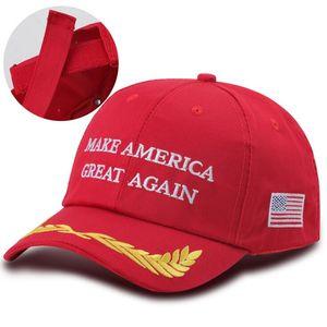 Hot Sales Donald Trump Capuchon de baseball Make America Super Broderie Broderie Gardez l'Amérique Great Hat Président républicain Trump Caps DHD687