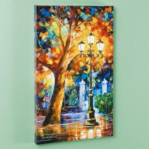 Leonid Afremov « Aura Romantique » Décoration decores HD Imprimer Peinture à l'huile sur toile Wall Art Canvas Photos décorations 200924