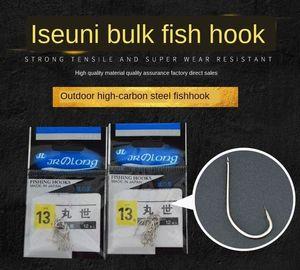 gancio bulk bulk Iseni scatolato tubi gancio forniture pesce pesca attrezzi pesca attrezzi fishhook Xc4KF