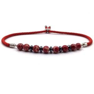 NAIQUBE Luxuxweinlese-Adjudtable Männer Frauen Armband 2020 Charm-Qualität für Männer Frauen Schmuck Stein Strang-Armband-Geschenk