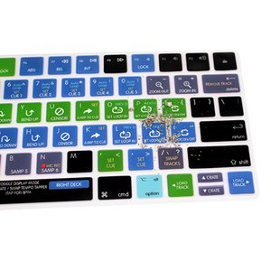 Serato DJ Shortcuts Function Hotkeys English Keyboard Covers Silicone Keypad Skin Protective Film For Apple Magic MLA22B A