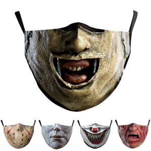 logo personalizzato maschere di cotone maschera per adulti faccia Bocca protezione naso riutilizzabile moda lavabile maschere anti-polvere alla polvere mascherina del partito