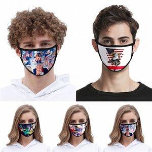 Mask envio reutilizável lavável Cotton Mouth Design Cara er Designer face linho Máscara # QA185 bwIt #