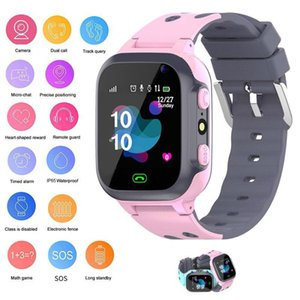 S16 Kids Smart Watch With Gps Tracker Smart Phone With Sim Card Call Photo Waterproof Ip67 For Boys Girls Gift For Ios Android