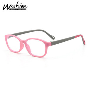 Teens Anti Blue Light Glasses Kids Children Square Optical Frame Anti Reflective Clear Computer Eyeglasses Boy Girl UV 2020 5-15