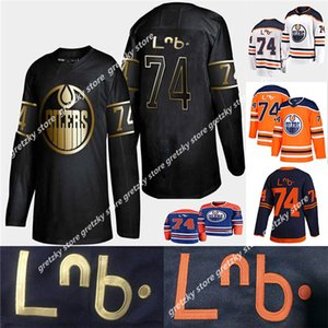 2020 Edmonton Oillers Jerseys 74 Итана Медведь ЛНБ наследие наследие первых наций с наследием Cree Tource Therey Shist Chisted Authentific Hockey Jersey