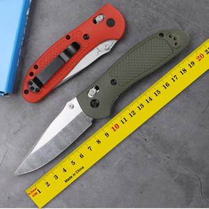 Benchmade Griptilian 551/550 Naylon fiber saplı Mark 154CM Blade Pocket Survival EDC Aracı kamp avcılık açık mutfak katlama bıçak