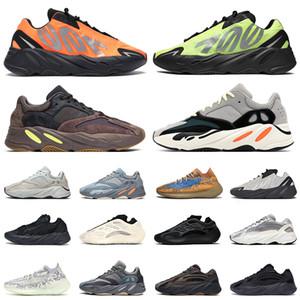 700 v2 boost Yeni kanye west erkek eğitmenler kadın spor ayakkabı dalga koşucu için koşu ayakkabıları Fosfor Mavi Yulaf v2 Azael Vanta Mauve Spor Eğitmenleri 36-46