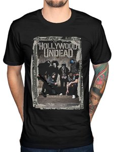 Hollywood Undead Cement T-Shirt Rap Rock LA Swan Songs Jordon Террелл Спортивная Активный Tee Shirt