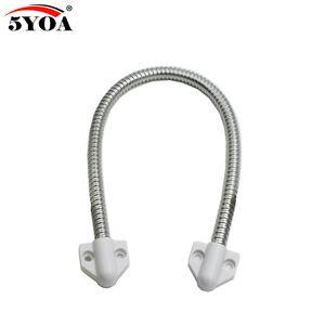 5YOA Porte boucle manchon de protection électrique exposé Montage de contrôle d'accès par câble pour la ligne de commande de verrouillage de verrouillage de porte en acier inoxydable