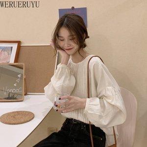 New Retro O-neck Shirt Hong Kong Style Sexy Thin Chiffon Sunscreen Tops BlousesFOR 2020